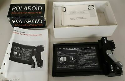 Polaroid Land Film Holder #545 for cameras with 4x5 backs photo photography
