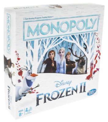 Monopoly Game: Disney Frozen 2 Edition Board Game for Ages 8 and Up Box Damage
