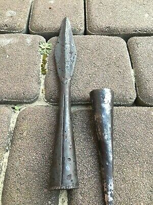 Shock Impact War Spear iron  Kievan Rus - Vikings 9 - 12 century AD.