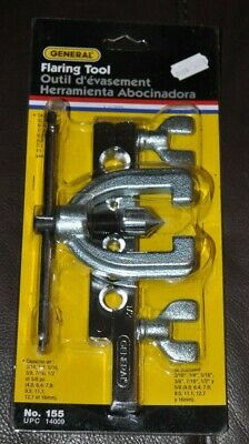 """General Tool Co. Flaring Tool Model 155 Sizes 3/16"""" - 5/8"""" (New In Package)"""""""