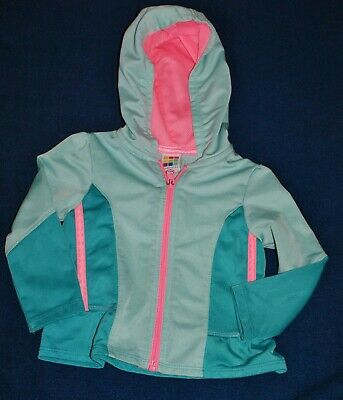 Toddler Girls Hooded Jacket By Healthtex 18 Mos.