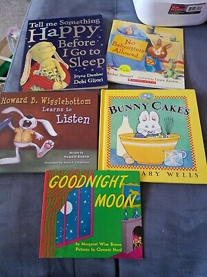 Bundle Lot of 5 Story Books for toddlers young children bunny books