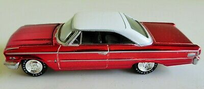 1963 Ford Galaxie Die Cast Toy Car By Johnny Lightning 2007 Holiday Classics