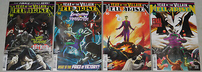 Year of the Villain Hell Arisen comic set #1 to #4 1st Prints DC 1st Punchline