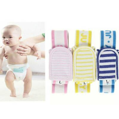 3pcs Newborn Baby Diaper Nappy Safety Fasteners Buckle Belt Cotton Fixing Tape
