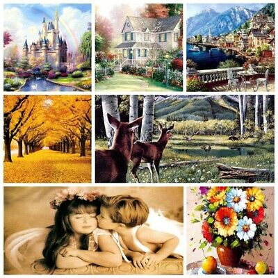 1000 Piece Jigsaw Puzzle Landscapes Decompression Game Toy Difficulty 50x75CM