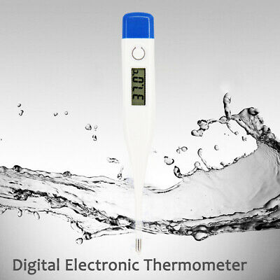 Electronic Digital LCD Thermometer Medical Baby Adult Body Safe Soft USA Stock