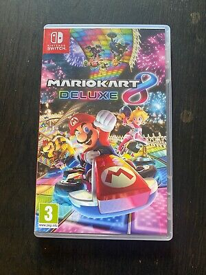 BOX ONLY Mario Kart 8 Deluxe BOX ONLY  Box Only for Nintendo Switch NO GAME