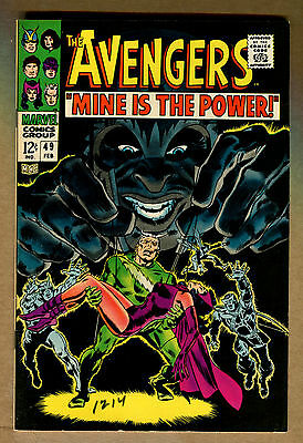 Avengers #49 - Mine is the Power 1968 - (8.0) WH