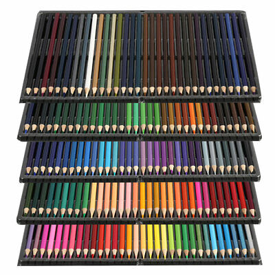 Professional 120/160 Colors Oil Color Pencils Set Artist Painting Sketching Draw