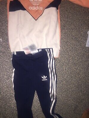 girls adidas tracksuit 18-24 months Used