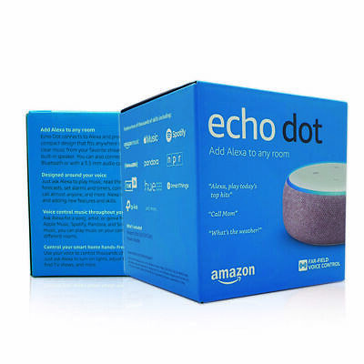 Amazon Echo Dot 3rd Generation - Smart Speaker with Alexa - Plum