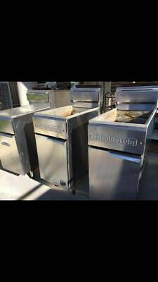 Goldstein Commercial Grade Natural Gas Deep Fryer. buy 1 or all 3
