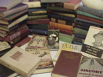 Lot Of 10 Vintage Old Antique Mixed  Hardcover  Books  Free Shipping !!! Lot 1