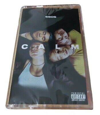 5 Seconds Of Summer - Calm (Pink Neon Cassette) Limited 2020 Album UK New 5SOS