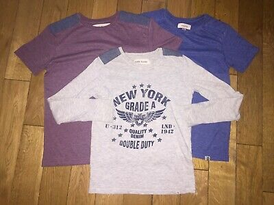 *River Island* Boys Gorgeous Bundle Of Shirts Tops T-Shirts Holiday Party Summer