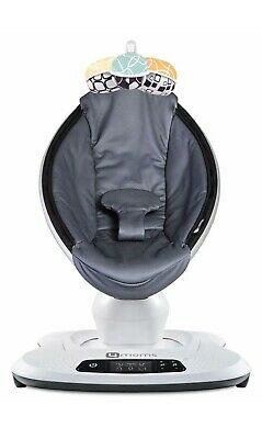 4moms MamaRoo 4 Infant Seat / Swing Rocker – Dark Gray Cool