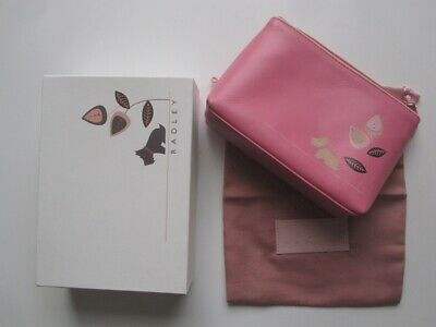 Radley cosmetic case / Pink