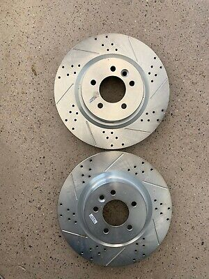 Power Stop JBR1576XPR Rear Evolution Drilled /& Slotted Rotor Pair