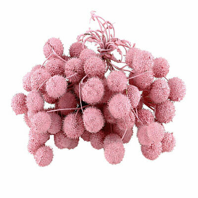Invierno Fruits in Bund, Branches with up to 5 Balls Pink/Pink