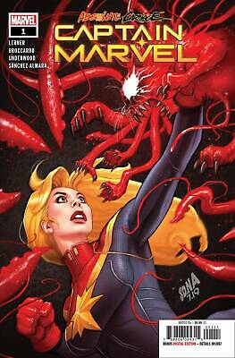 VENOM 19 Main Regular cover 19A 2019 NM Absolute carnage tie in jee hyung