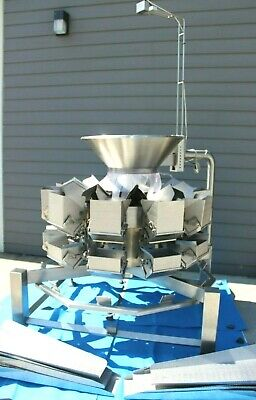WeighPack Primocombi Multihead Packaging Weigher 5L,10 Head Unit Only. *PERFECT*