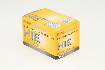 Kodak HIE High-Speed Infrared Black & White Film 135 (35mm) SEALED/REFRIGERATED