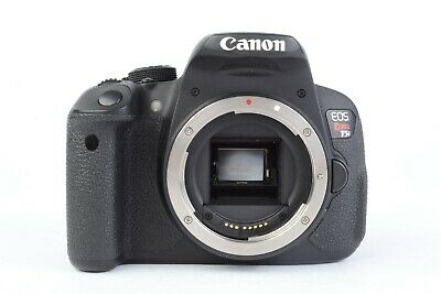 Canon EOS Rebel T5i 18.0 MP Digital SLR (Body Only) Shutter Count: 52,373 #ET5I1