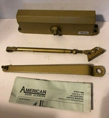 AMERICAN Door Closer Series 500 Gold
