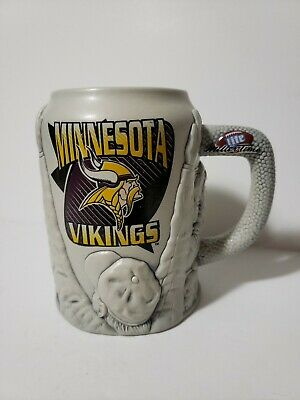 Minnesota Vikings Miller Brewing company 1st In A Series Beer Stein