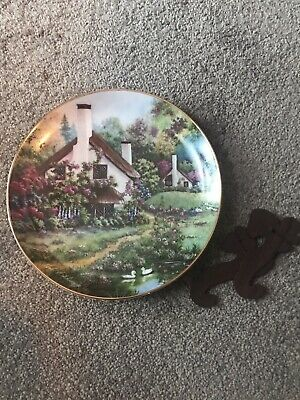 A Cozy Glen Franklin Mint Heirloom Collector Plate