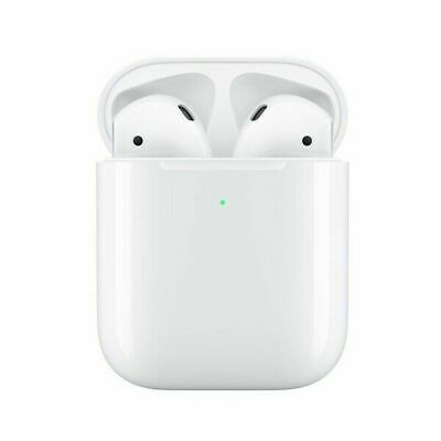 2nd Generation Refurbished for Apple Airpods + Wireless Charging Case White US