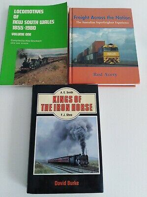 Train Books NSWR Locomotives Kings of the Iron Horse Freight Across The Nation
