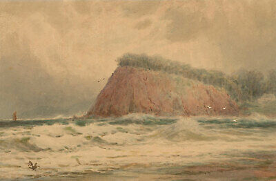 Rubens Southey - Signed Early 20th Century Watercolour, Watercolour Seascape