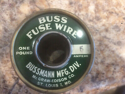 Buss Fuse Wire 5 AMP