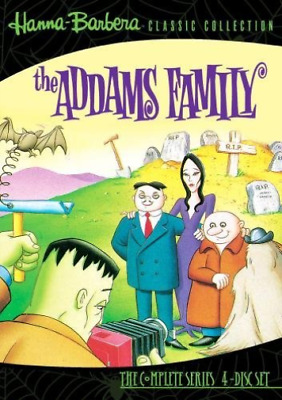 ADDAMS FAMILY: S1 (ANIMATED...-Adams Family S1(4 Disc Set) DVD NEW