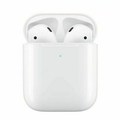Refurbished for Apple Airpods 2nd Generation + Wireless Charging Case White