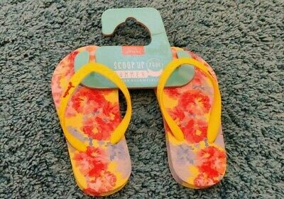 Infant Girls Size 9 JOULES Shoes Flip-Flops Sandals *NEW WITH TAGS*