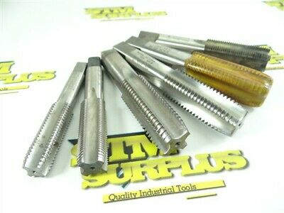 "Lot Of 6 Helicoil Sti Hss Taps 1/2""-13 5/8""-18 3/4""-10 & 3/4""-16"