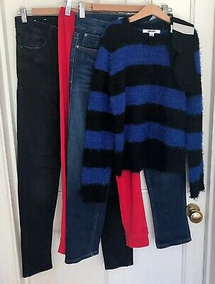 DKNY, PULL & BEAR Denim, NEW LOOK, etc Girls' Clothing Bundle-Size 13-15 Yrs-VGC