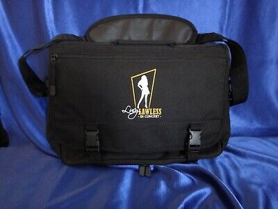 VERY RARE Xena Lucy Lawless in Concert OFFICIAL Messenger Bag - BRAND NEW