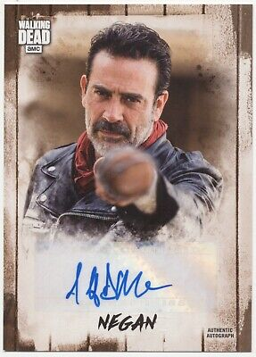 Negan Topps Autograph Series Card Numbered To 09/79