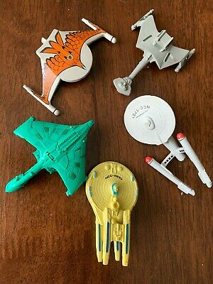 STAR TREK 6 Space Ships Collectibles