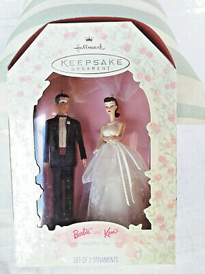 Hallmark Keepsake Ornament Barbie & Ken Wedding Day 1997