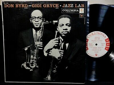 JAZZ LAB DON BYRD GIGI GRYCE LP COLUMBIA CL 998 DG MONO 6 EYE 1957 Jazz WL PROMO