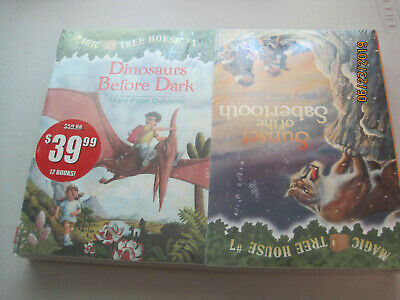 NEW factory sealed Magic Tree House Book Set 1-12 by Mary Pope Osbourne