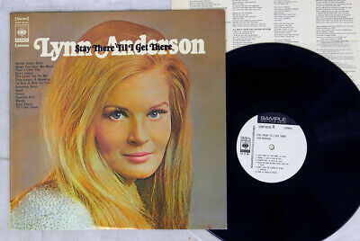LYNN ANDERSON STAY THERE 'TIL I GET THERE CBS/SONY SONP 50310 Japan PROMO LP