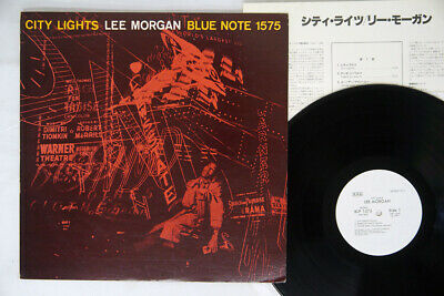 LEE MORGAN CITY LIGHTS BLUE NOTE BLP 1575 Japan PROMO VINYL LP