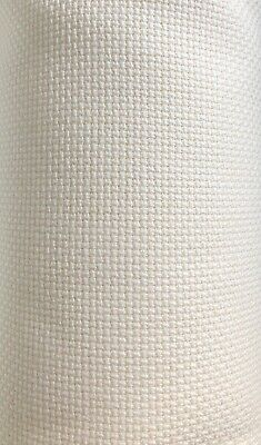 14ct - 14 count Birch ANTIQUE WHITE Aida Cloth  - Pre-cut sizes only