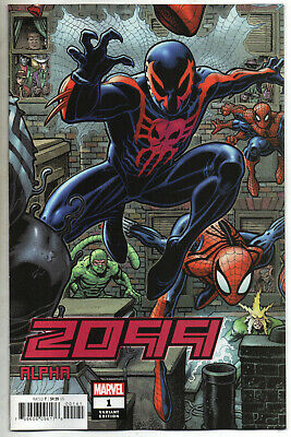 2099 ALPHA #1 A ADAMS 8-PART CONNECTING Variant Cover NM